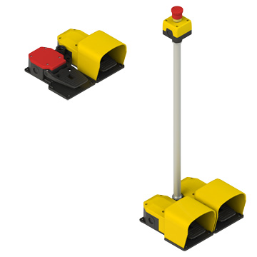 Modular foot switches