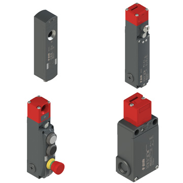 Safety switches with separate actuator and lock