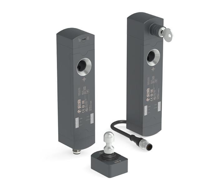 采用 RFID 技术的 NS 系列安全电磁门锁开关