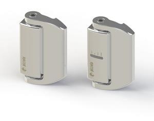 Interruptores de seguridad con forma de bisagra en acero inoxidable, serie HX
