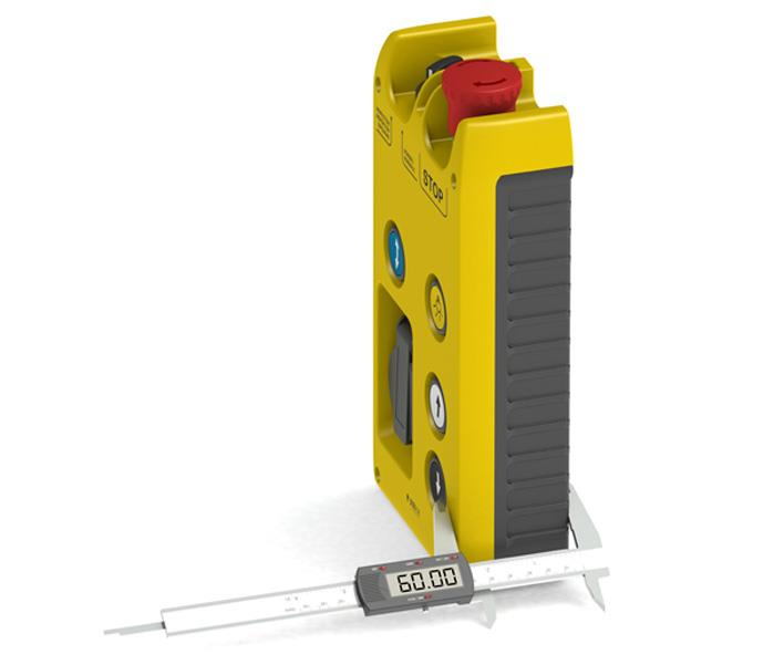 EL AD series lift control stations with reduced 60 mm height