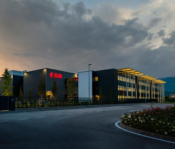 New company headquarters for Pizzato: a cutting-edge project in industrial production systems